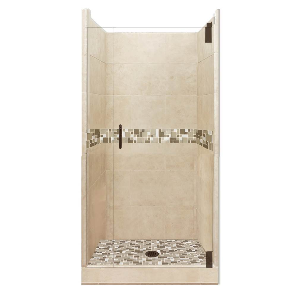 American Bath Factory Alcove Shower Enclosures item AGH-3838BT-CD-OB