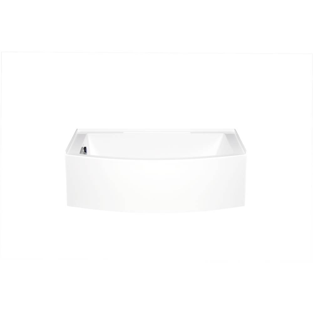 Americh Three Wall Alcove Air Bathtubs item MZ6032BLA2-SC