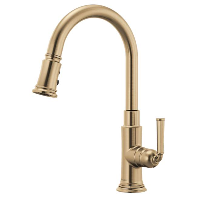 Brizo Pull Down Faucet Kitchen Faucets item 63074LF-GL