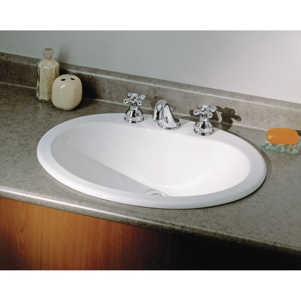Cheviot Products Drop In Bathroom Sinks item 1170-WH-4