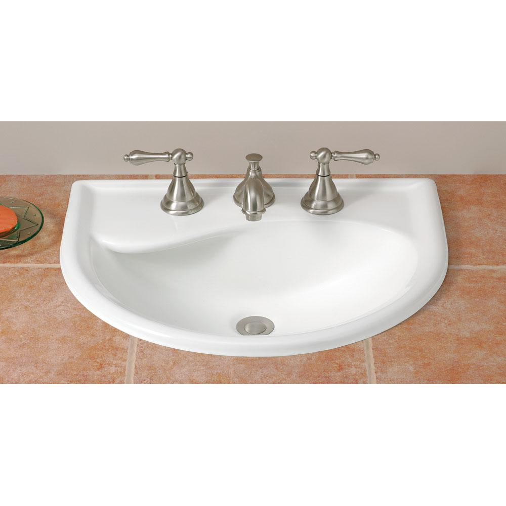 Cheviot Products Drop In Bathroom Sinks item 1177-WH-4