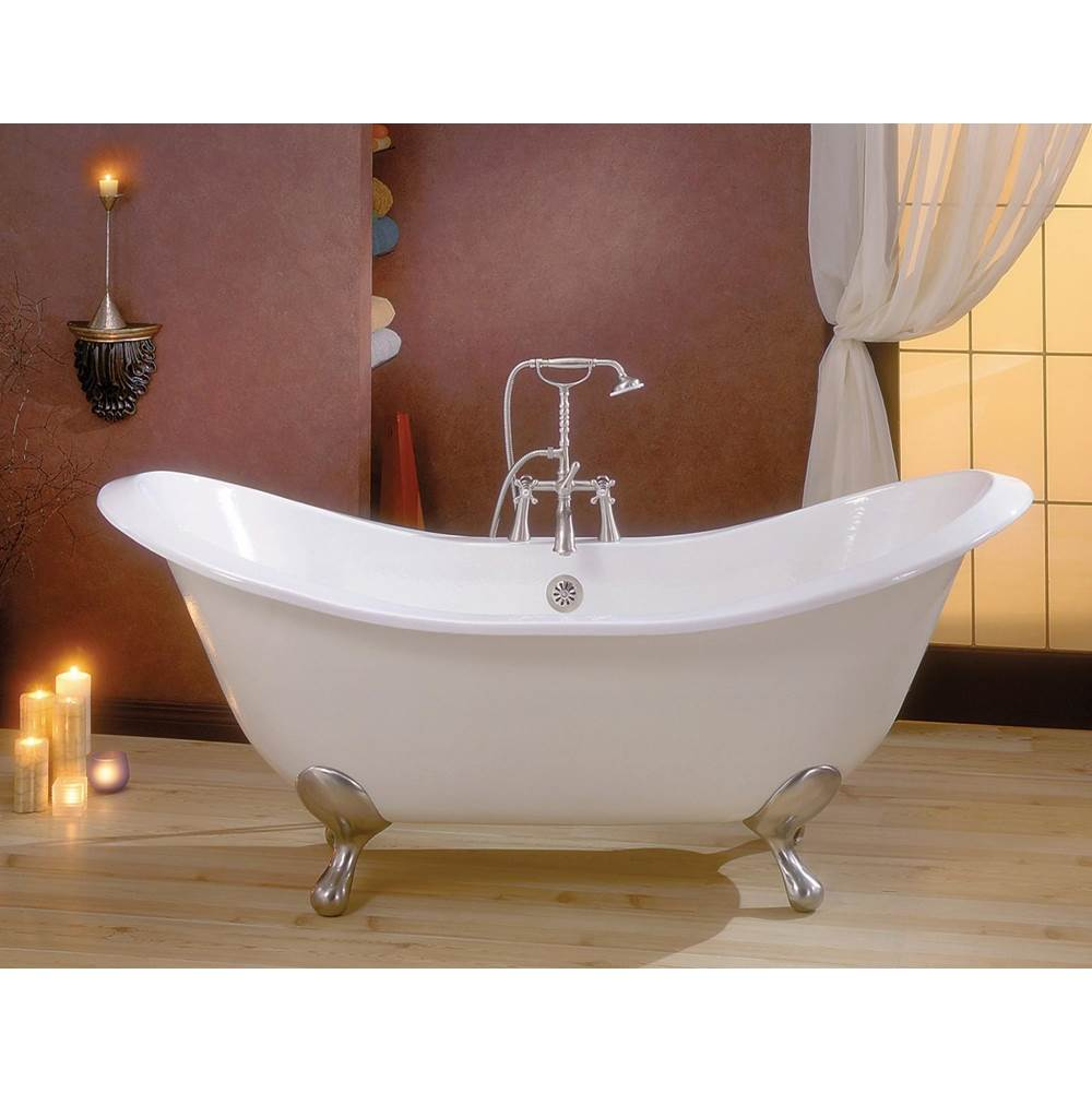 Cheviot Products Clawfoot Soaking Tubs item 2112-BB-8-CH