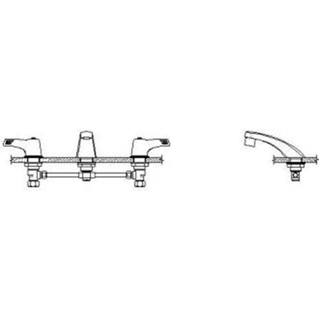 Delta Faucet Widespread Bathroom Sink Faucets item 23C353
