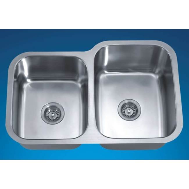 Dawn Undermount Kitchen Sinks item ASU108L
