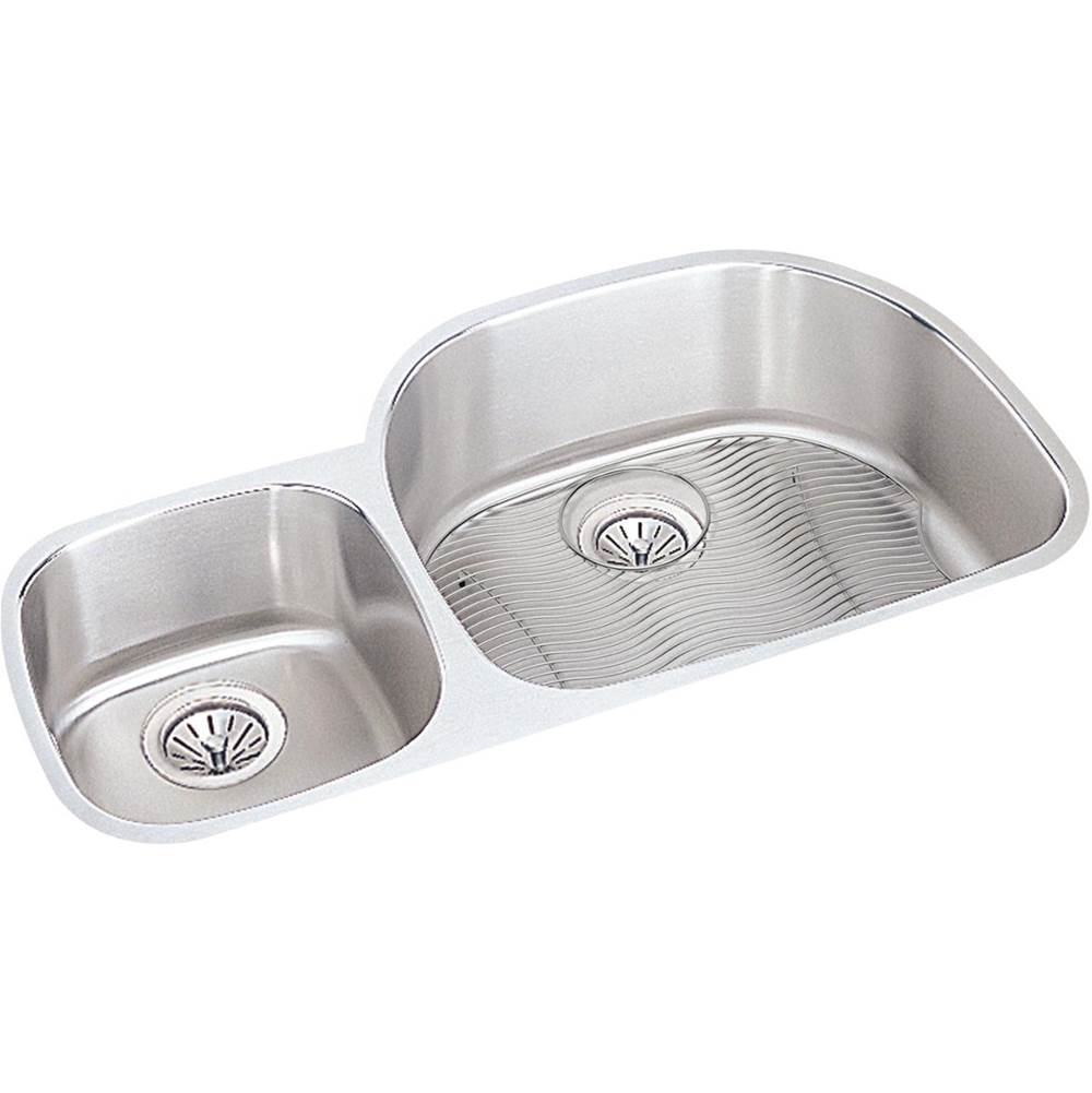 Elkay Undermount Kitchen Sinks item ELUH3621LDBG