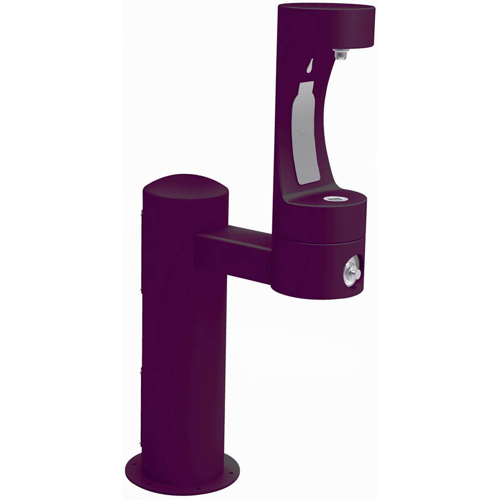 Elkay Floor Mount Drinking Fountains item LK4410BFFRKPUR