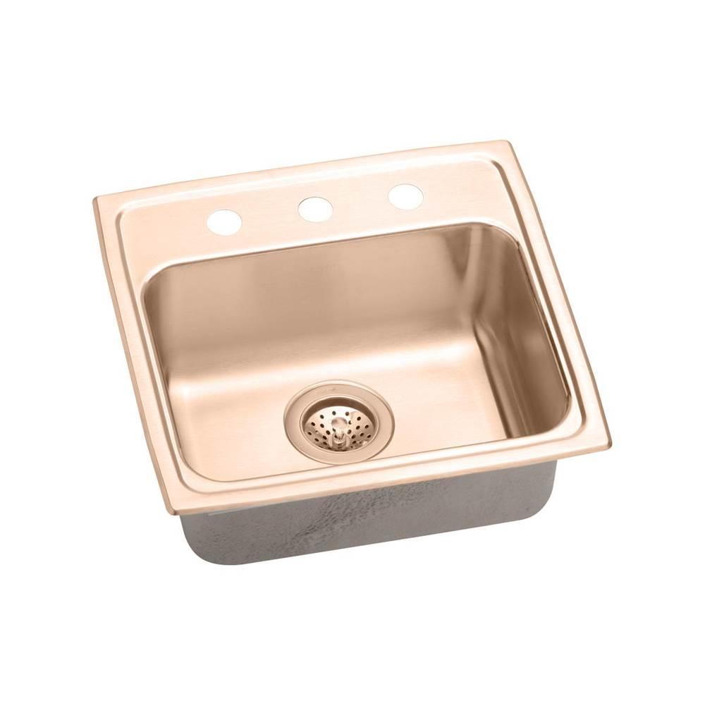 Elkay Drop In Kitchen Sinks item LRAD1918550-CU