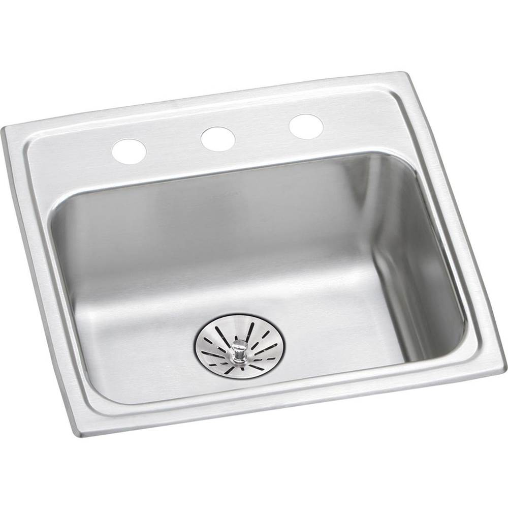 Elkay Drop In Kitchen Sinks item LRAD191865PD1