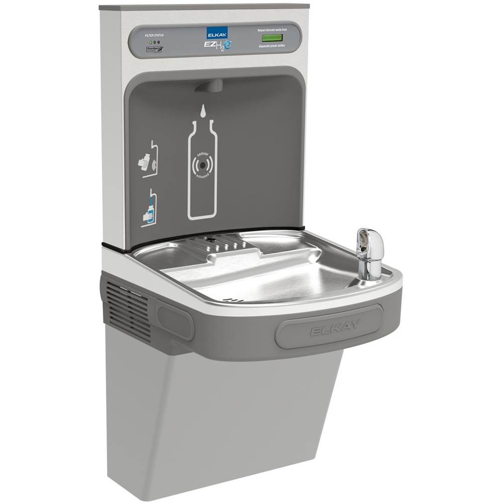 Elkay Wall Mount Drinking Fountains item LZS8WSVRLK