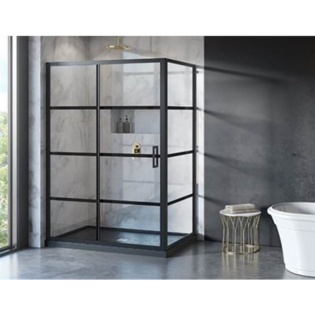 Fleurco Corner Shower Doors item LA26048-33-43-79