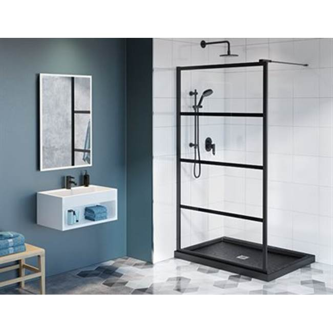Fleurco Corner Shower Doors item LAV2838C-33-43-79