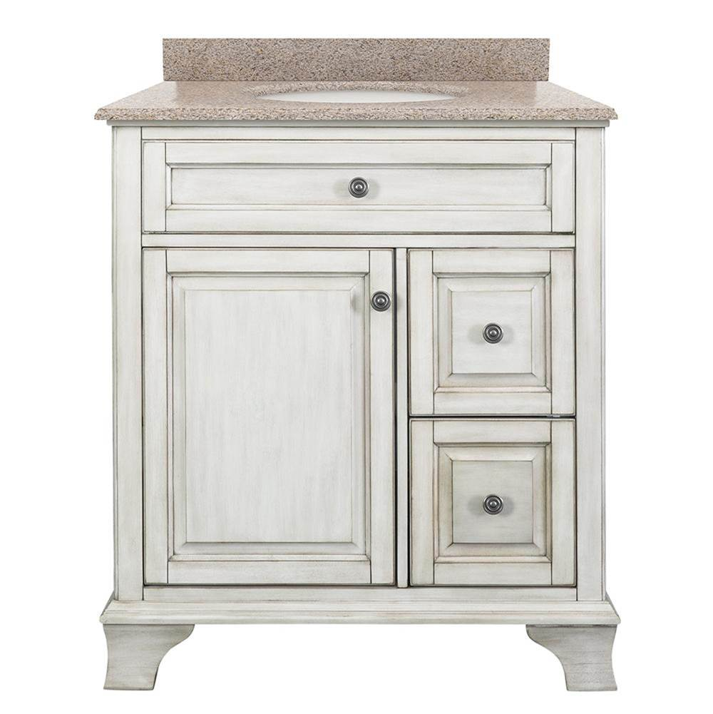 Foremost Vanity Combos With Countertops Vanity Sets item CNAWVT3122D-MB