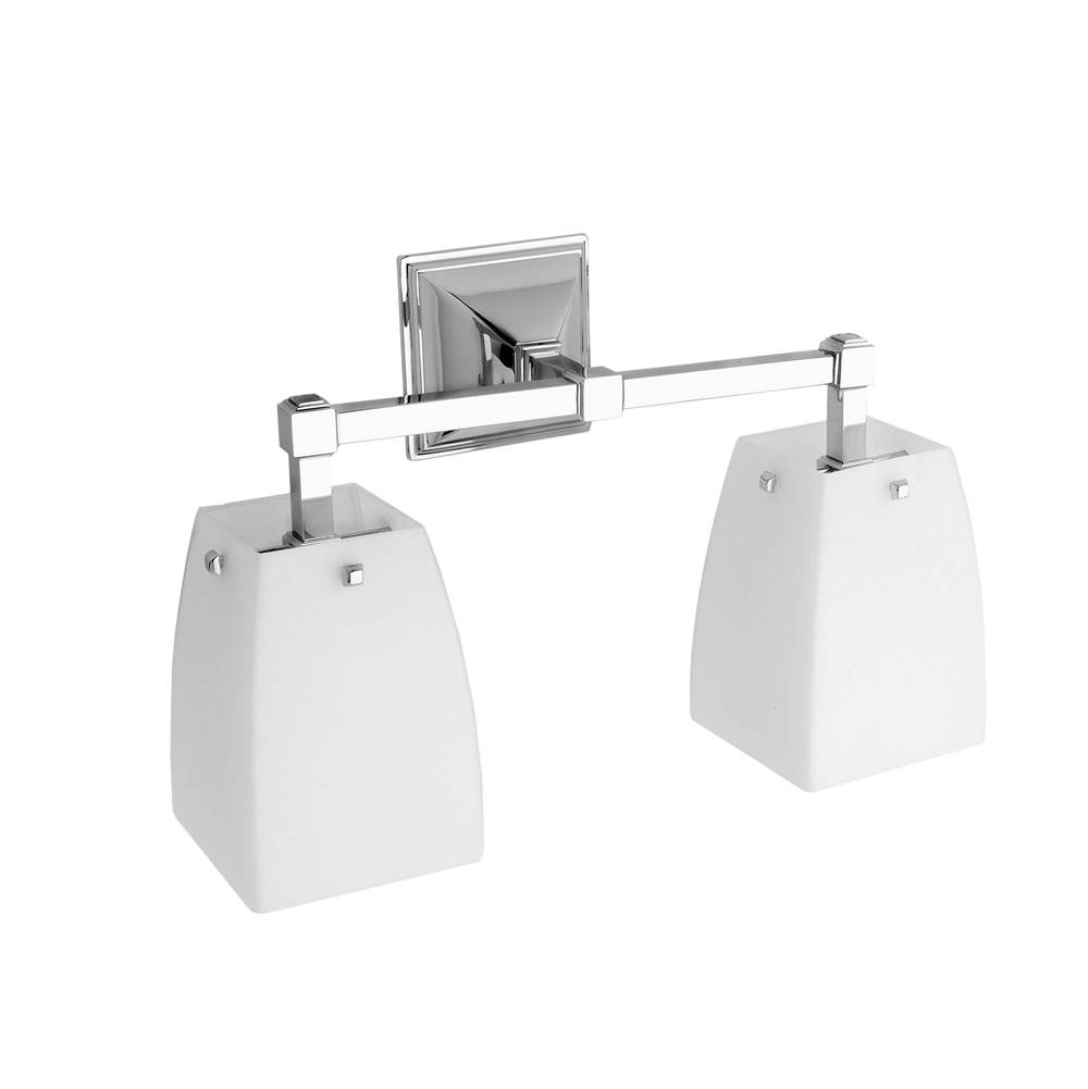 Ginger Two Light Vanity Bathroom Lights item 1882D/PC