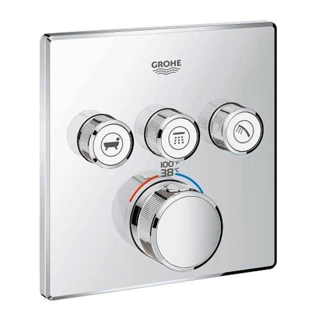 Grohe Thermostatic Valve Trims With Integrated Diverter Shower Faucet Trims item 29142000