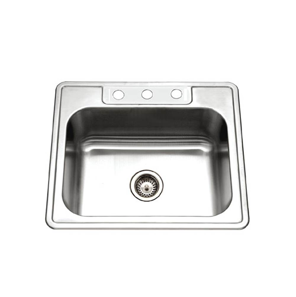 Hamat Drop In Kitchen Sinks item REV-2522ST-9-3-20