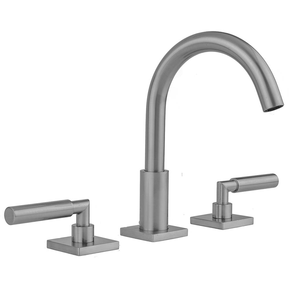 Jaclo Widespread Bathroom Sink Faucets item 8881-TSQ459-1.2-BKN
