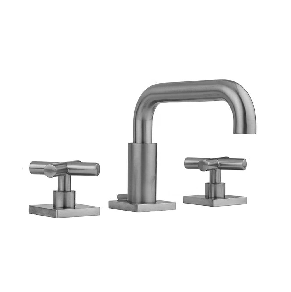 Jaclo Widespread Bathroom Sink Faucets item 8883-TSQ462-BKN