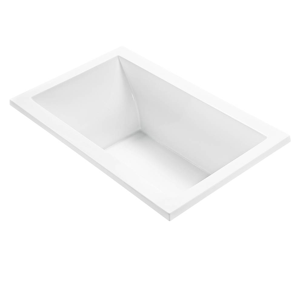 MTI Baths Drop In Whirlpool Bathtubs item P101U-WH-DI