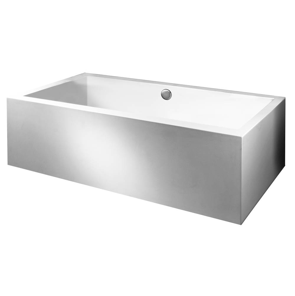 MTI Baths Three Wall Alcove Air Bathtubs item AE108ASCULPT2