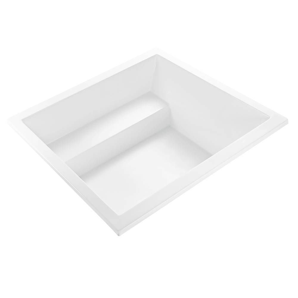 MTI Baths Undermount Air Bathtubs item AST121-WH-UM