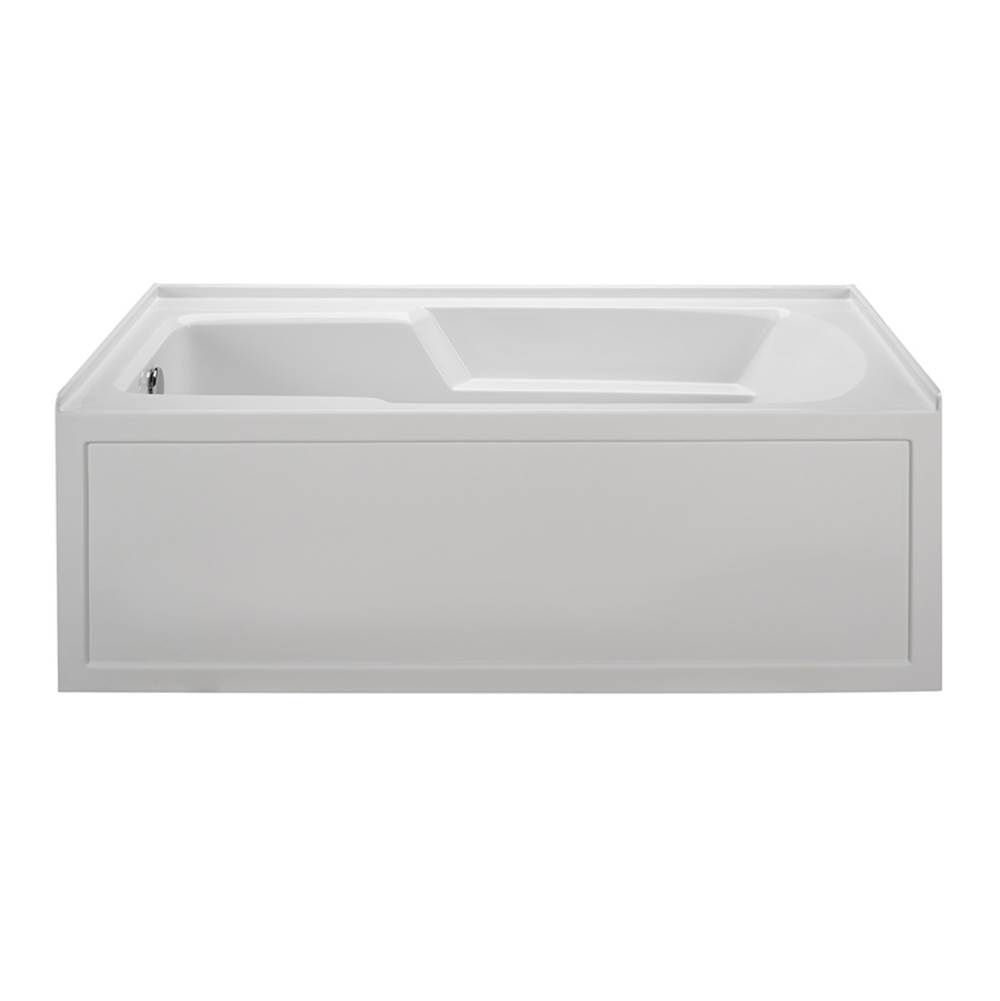 MTI Baths Three Wall Alcove Whirlpool Bathtubs item MBWIS6030-BI-LH