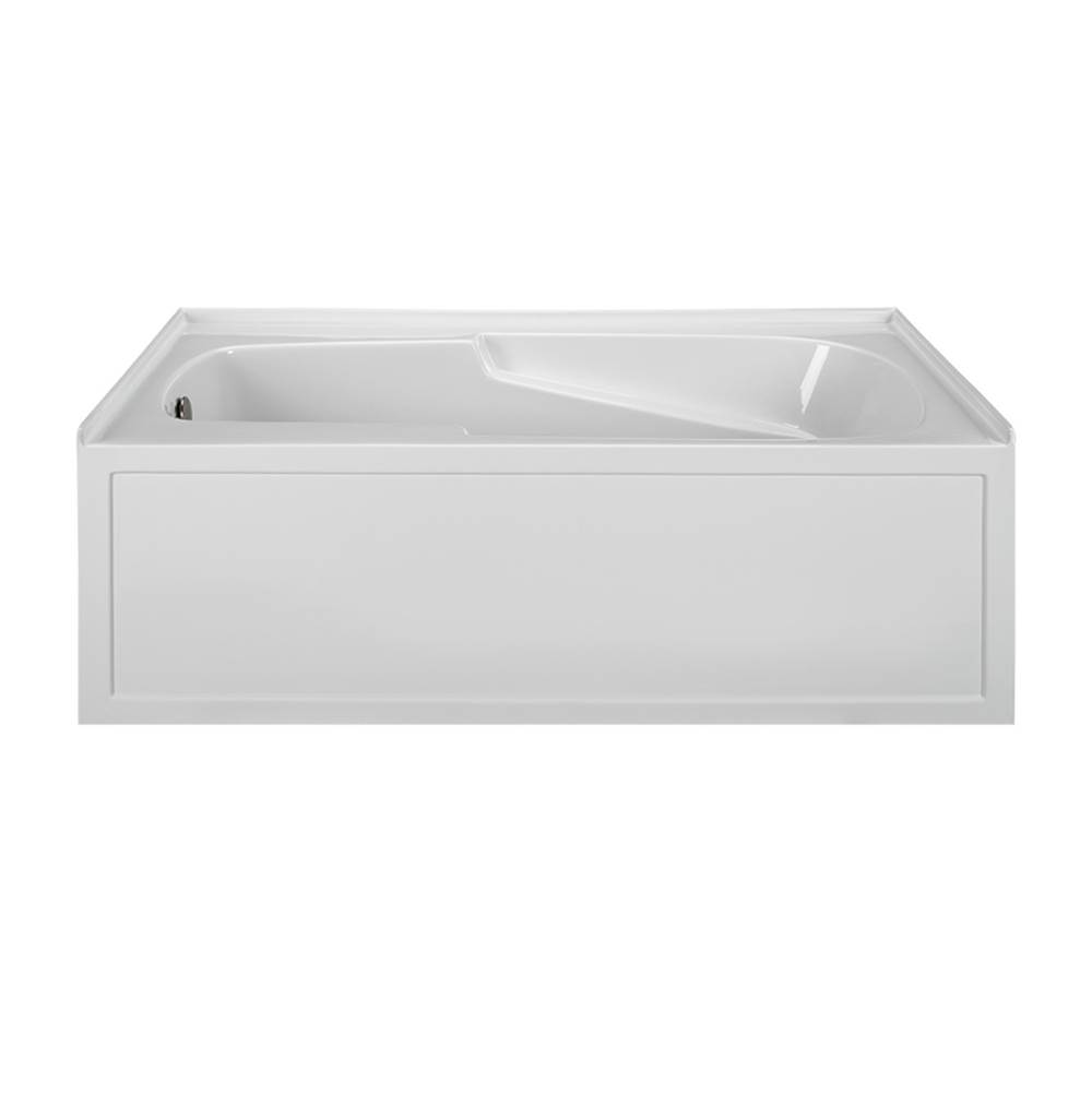 MTI Baths Three Wall Alcove Whirlpool Bathtubs item MBWIS6042-WH-RH