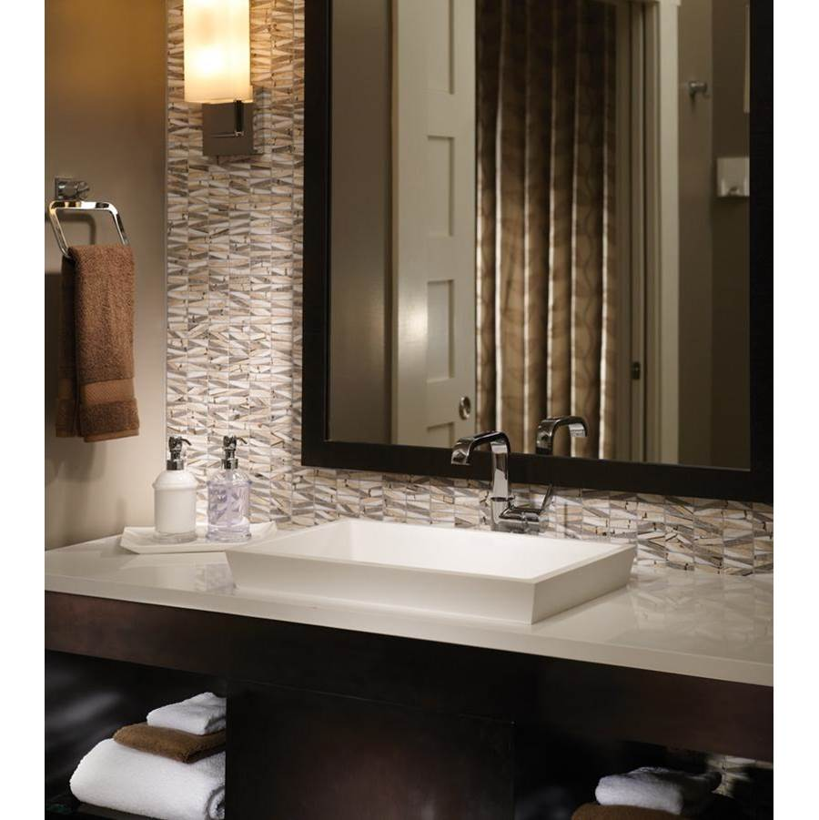 MTI Baths Vanity Tops Vanities item MTCS731-WH-GL