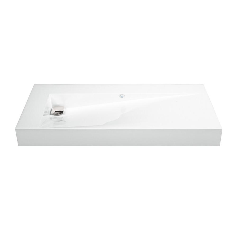 MTI Baths Vanity Tops Vanities item MTCS711-WH-MT-RH