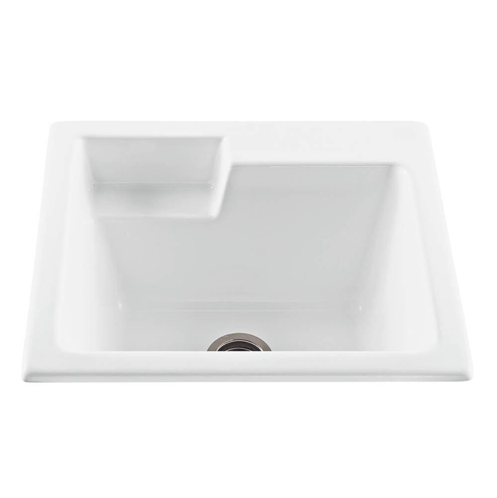 MTI Baths Drop In Laundry And Utility Sinks item MTLS110-WH