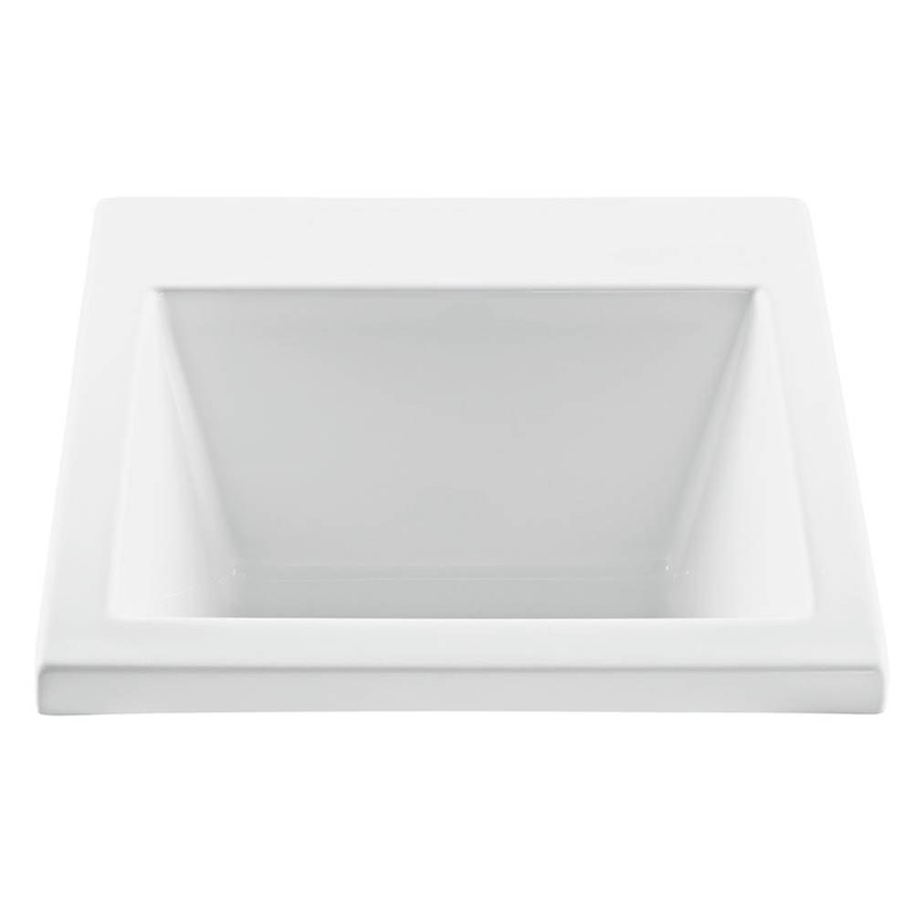 MTI Baths Drop In Laundry And Utility Sinks Item MTLS120 WH DI