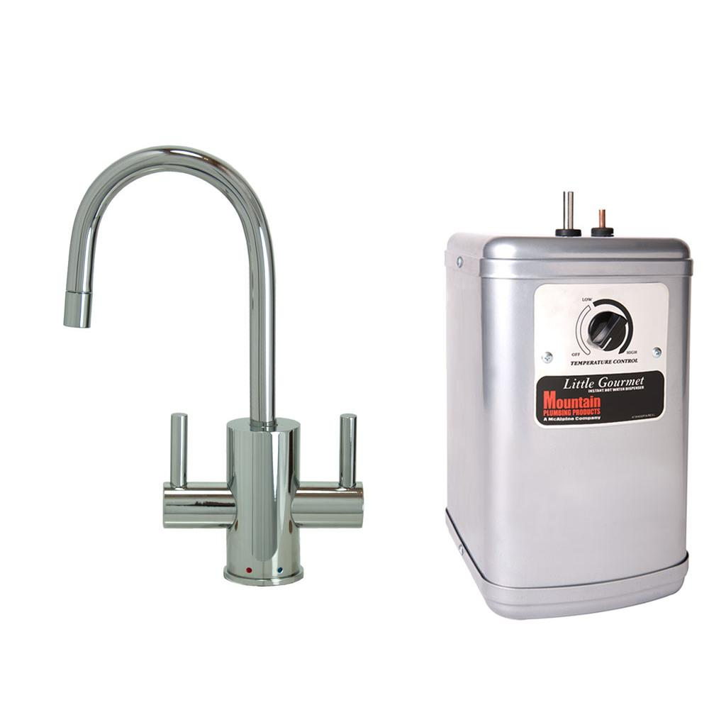 Mountain Plumbing Hot And Cold Water Faucets Water Dispensers item MT1841DIY-NL/PVDPN