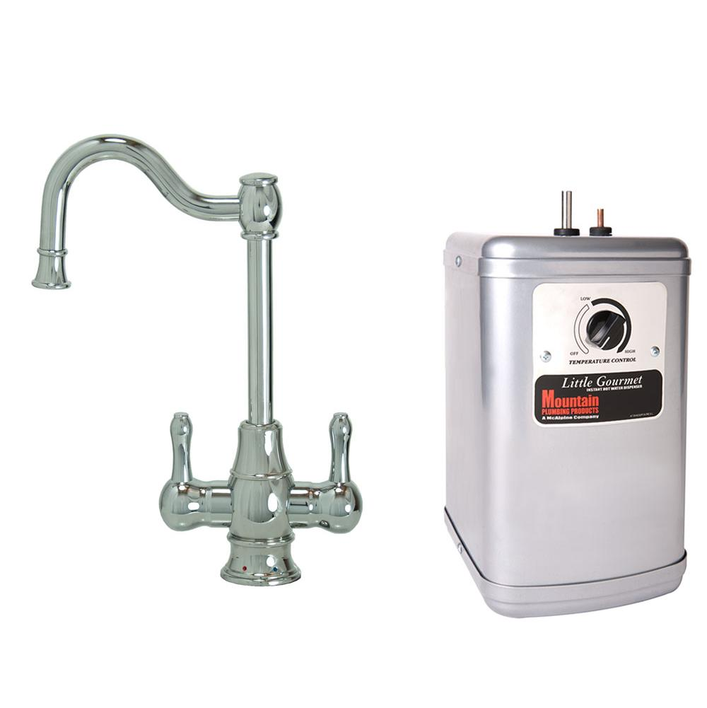 Mountain Plumbing Hot And Cold Water Faucets Water Dispensers item MT1871DIY-NL/PVDPN