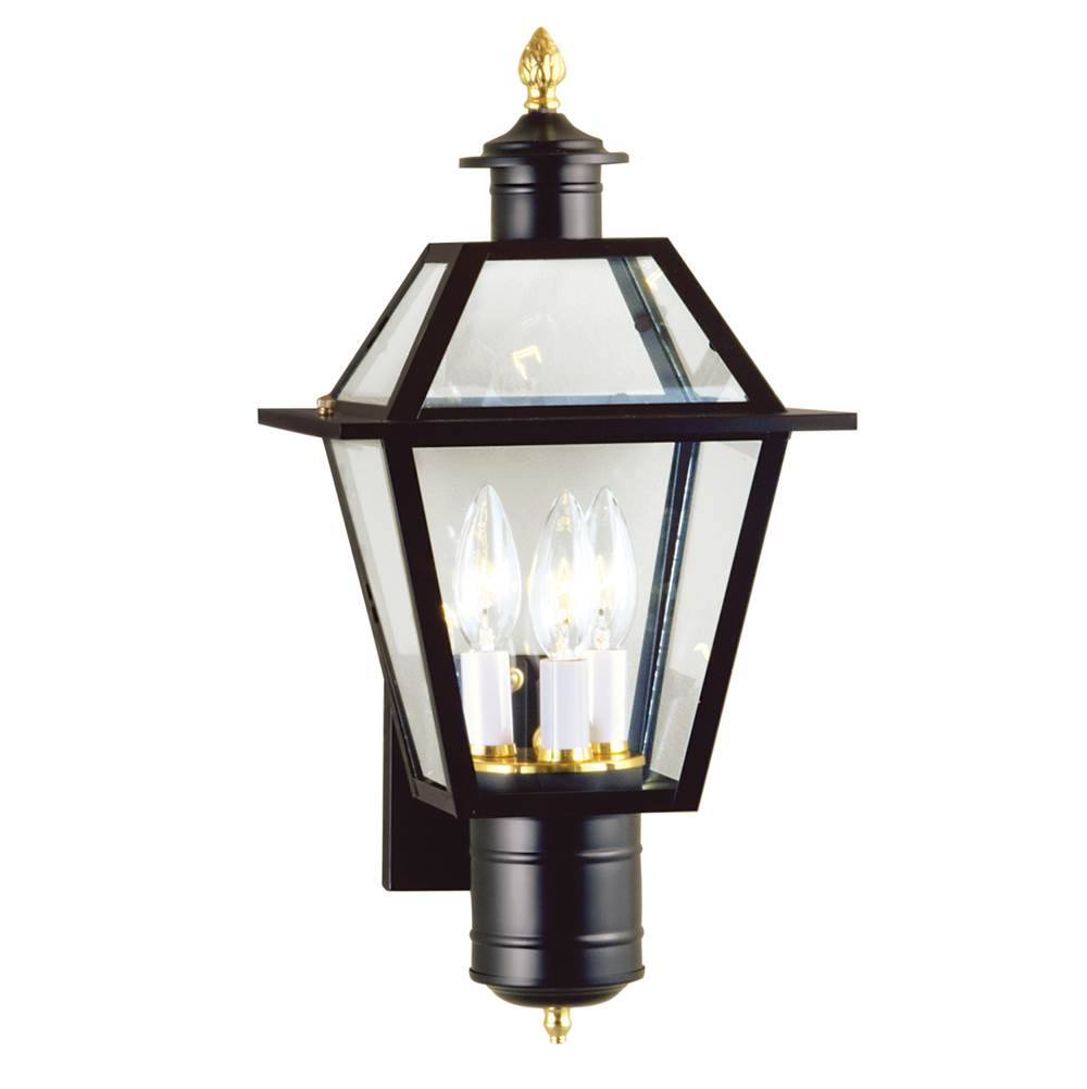 Norwell Wall Lanterns Outdoor Lights item 2233-BL-CL