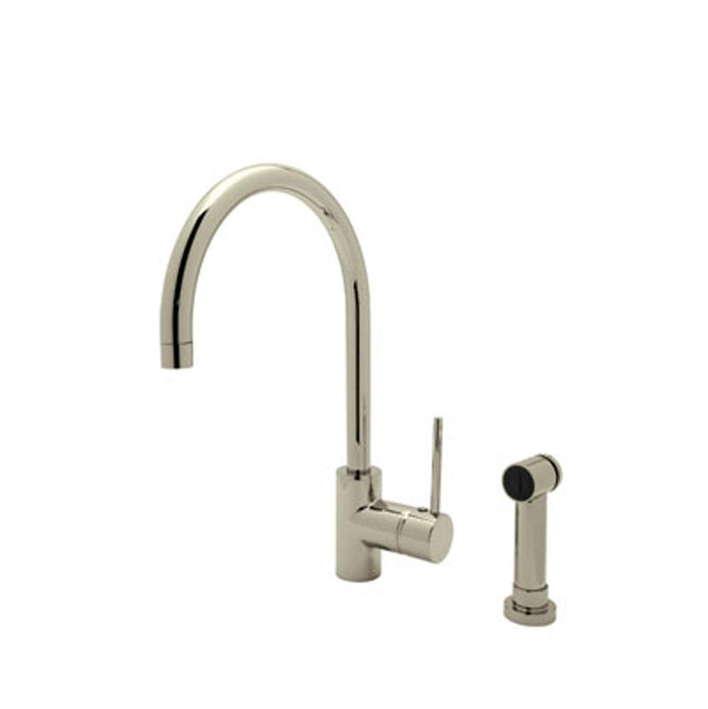 Rohl Deck Mount Kitchen Faucets item LS457L-STN-2