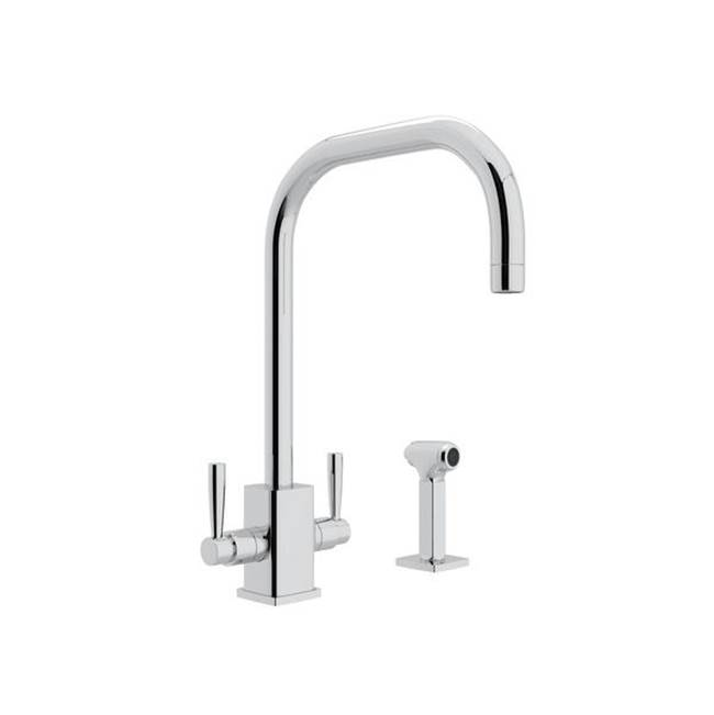 Rohl Deck Mount Kitchen Faucets item U.4310LS-APC-2