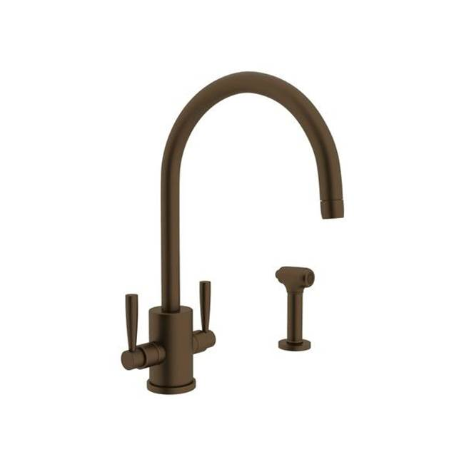 Rohl Deck Mount Kitchen Faucets item U.4312LS-EB-2