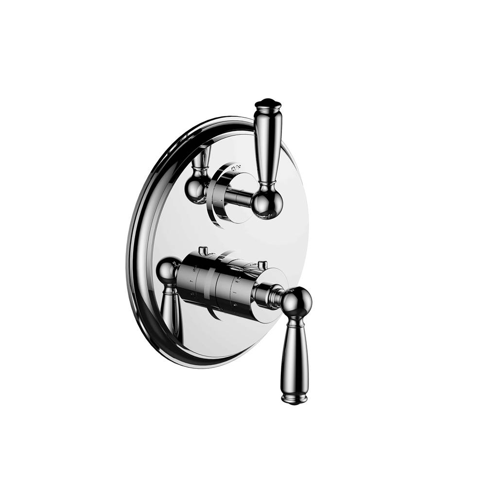 Santec Thermostatic Valve Trims With Integrated Diverter Shower Faucet Trims item 7097ET24-TM