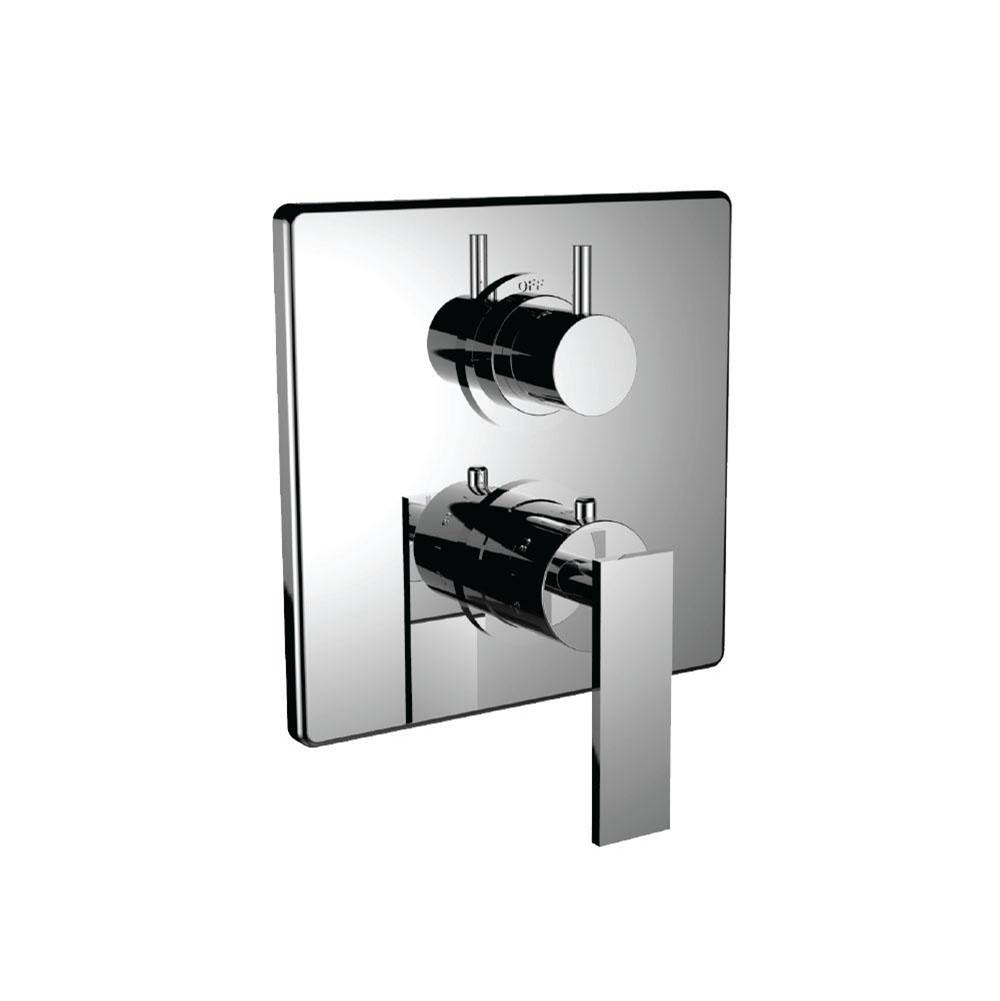 Santec Thermostatic Valve Trims With Integrated Diverter Shower Faucet Trims item 7099EM24-TM
