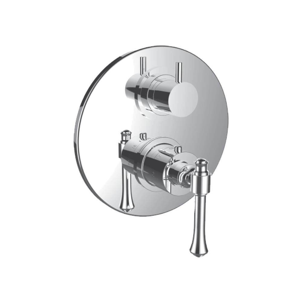 Santec Thermostatic Valve Trims With Integrated Diverter Shower Faucet Trims item 7098AT24-TM