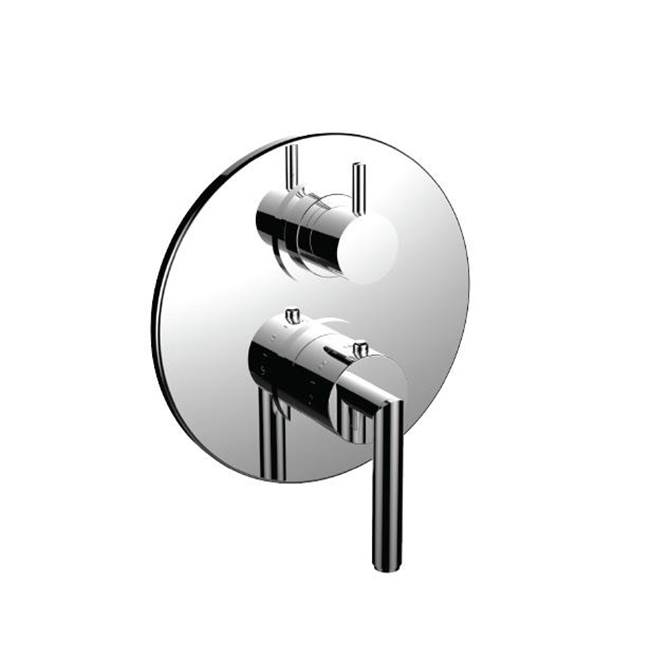 Santec Thermostatic Valve Trims With Integrated Diverter Shower Faucet Trims item 7096FO24-TM