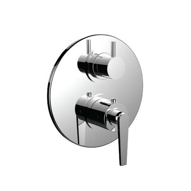 Santec Thermostatic Valve Trims With Integrated Diverter Shower Faucet Trims item 7096HO28-TM