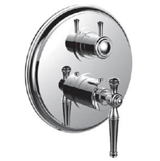 Santec Thermostatic Valve Trims With Integrated Diverter Shower Faucet Trims item 7096KL49-TM