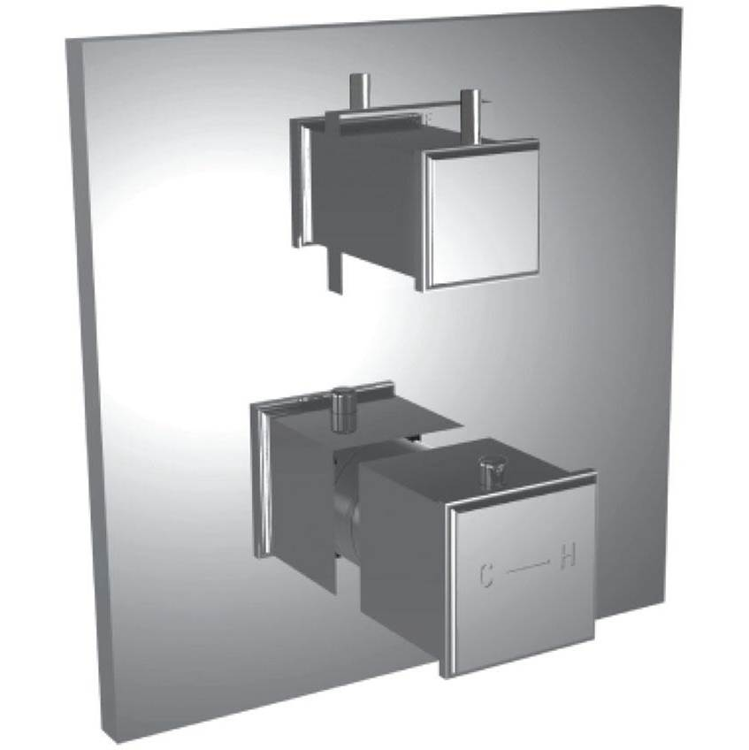 Santec Thermostatic Valve Trims With Integrated Diverter Shower Faucet Trims item 7099MC25-TM