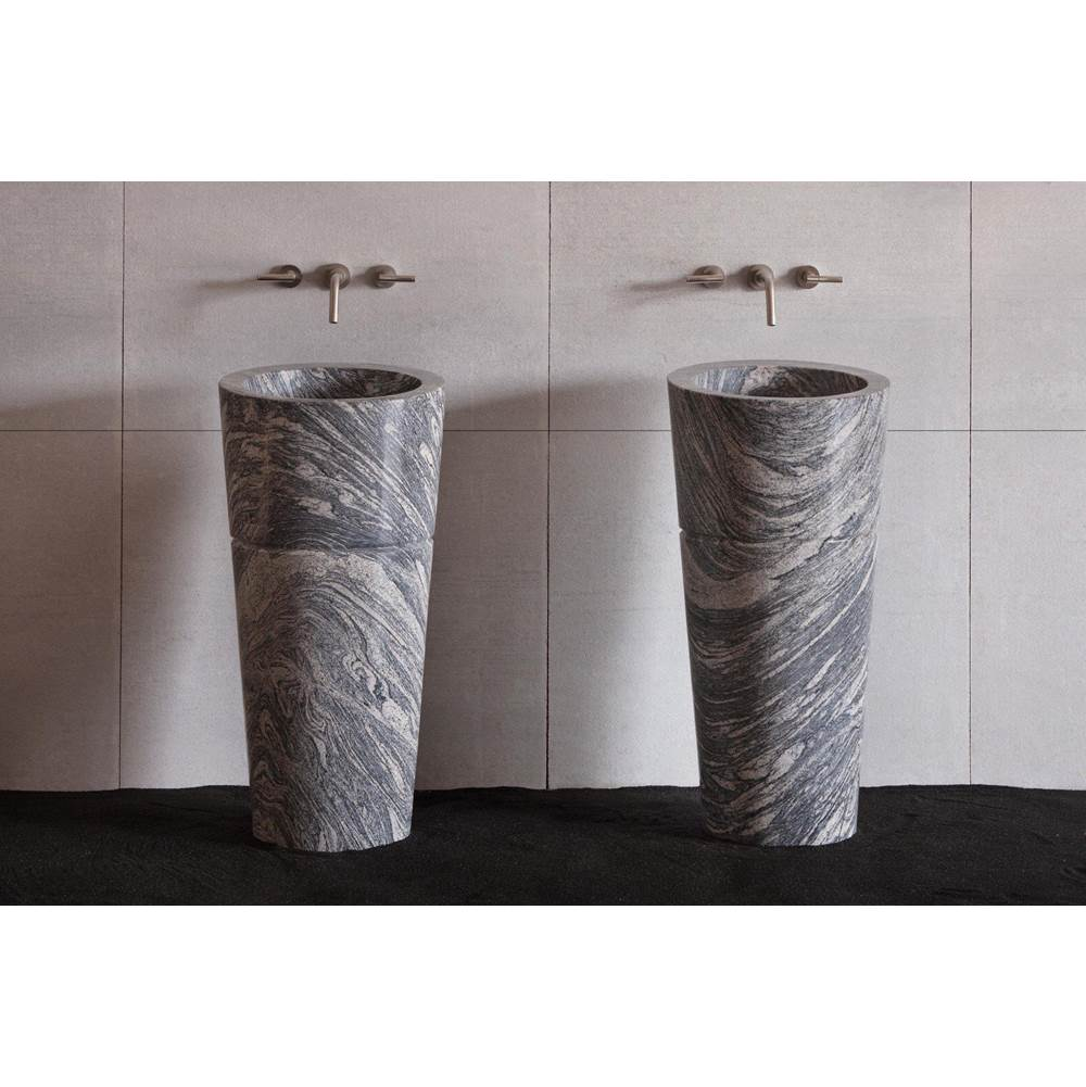 Stone Forest Complete Pedestal Bathroom Sinks item C62 CG