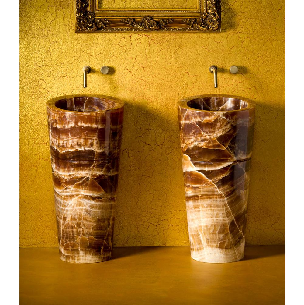 Stone Forest Complete Pedestal Bathroom Sinks item C62 SSG