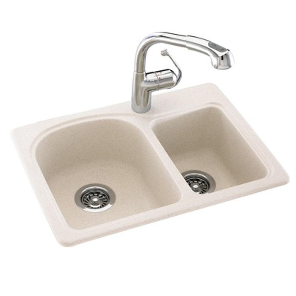 Swan Drop In Kitchen Sinks Item KS02518DB.051