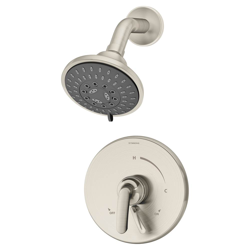 Symmons  Shower Only Faucets With Head item S-5501-STN-TRM