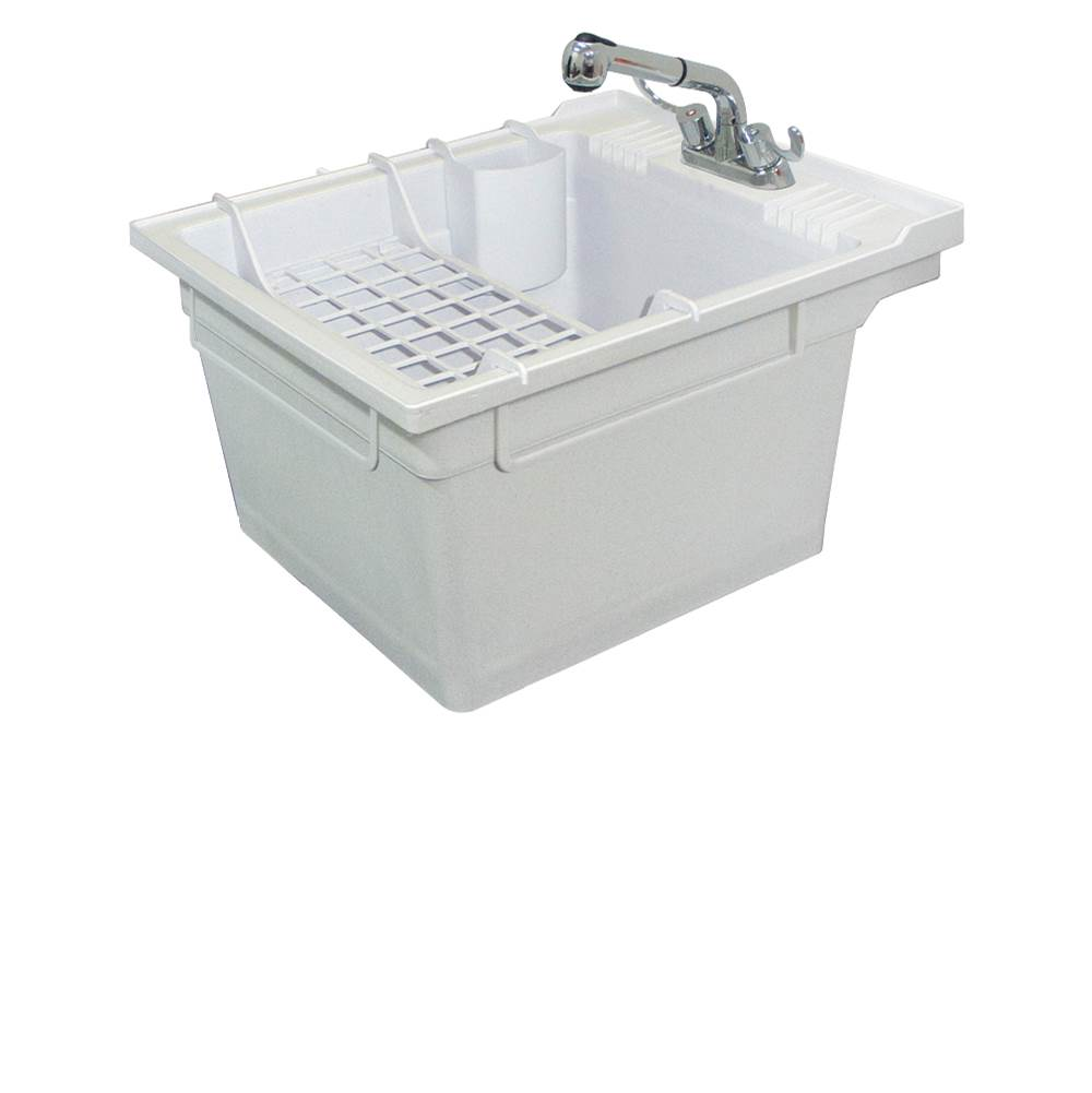 Transolid Wall Mount Laundry And Utility Sinks item SM-19-WC