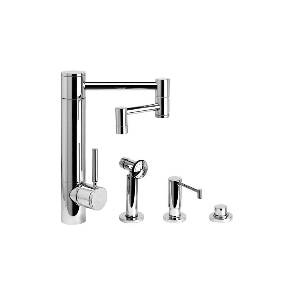 Waterstone Single Hole Kitchen Faucets item 3600-12-3-DAP
