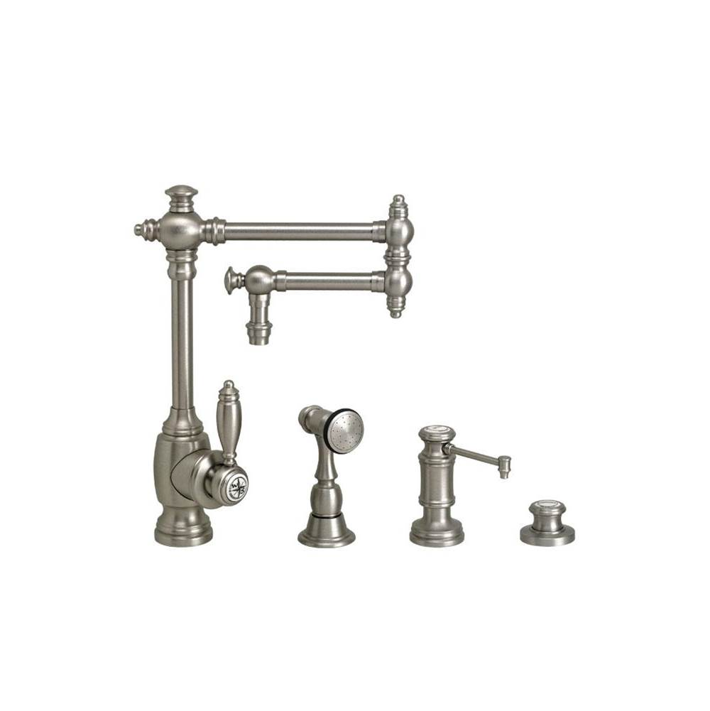 Waterstone Single Hole Kitchen Faucets item 4100-12-3-MB